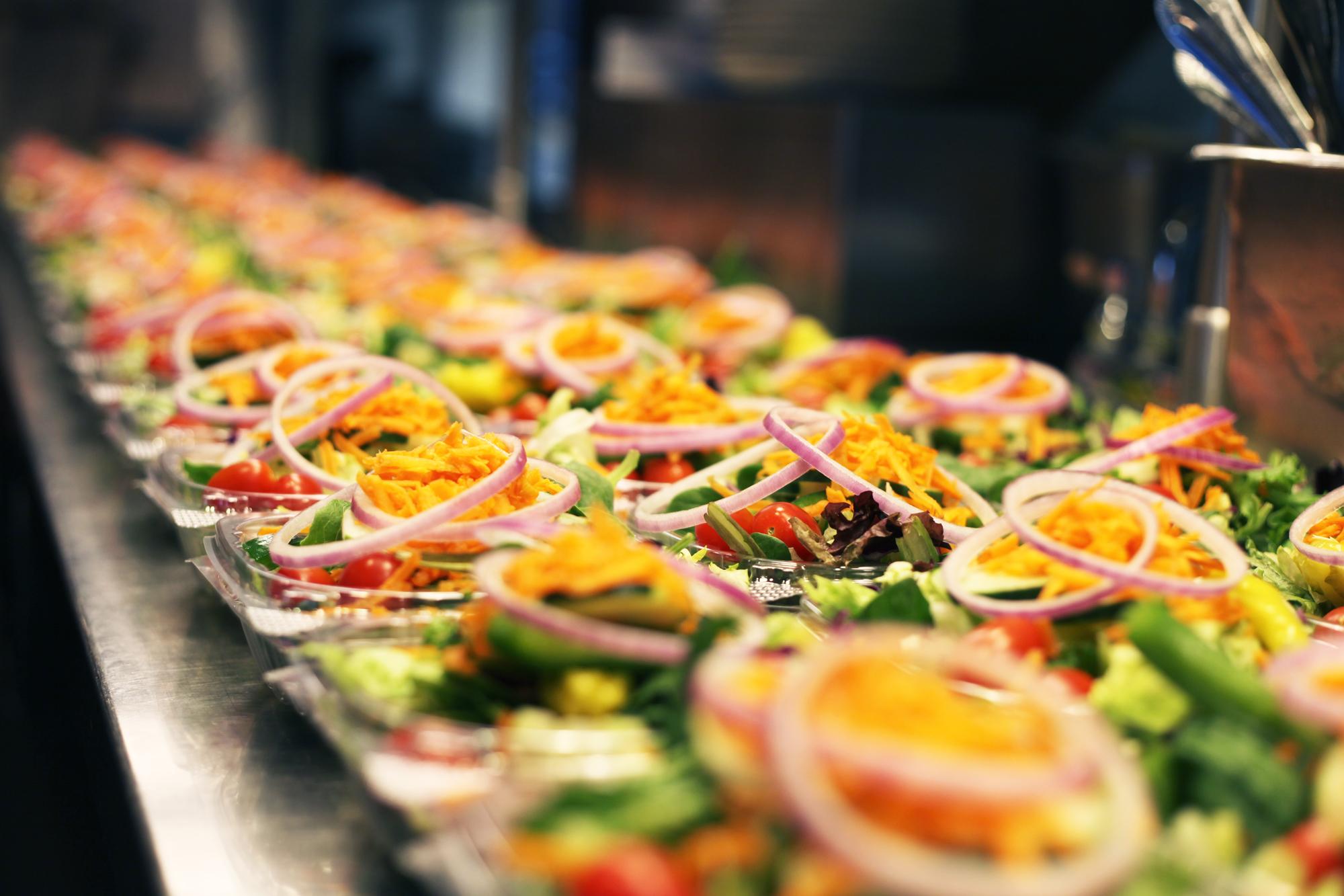 take out salads
